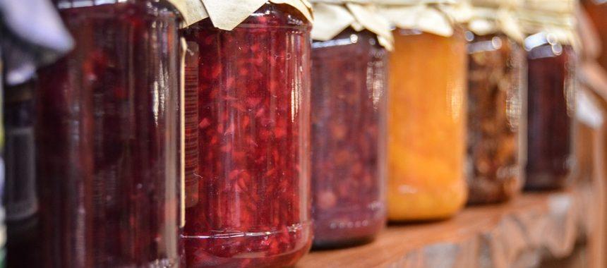 Welke potten zijn het meest geschikt voor het inmaken van appelmoes of jam?